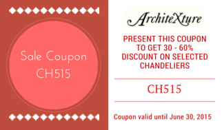 Chandelier Coupon Code