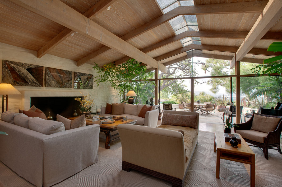 eco friendly living room designs